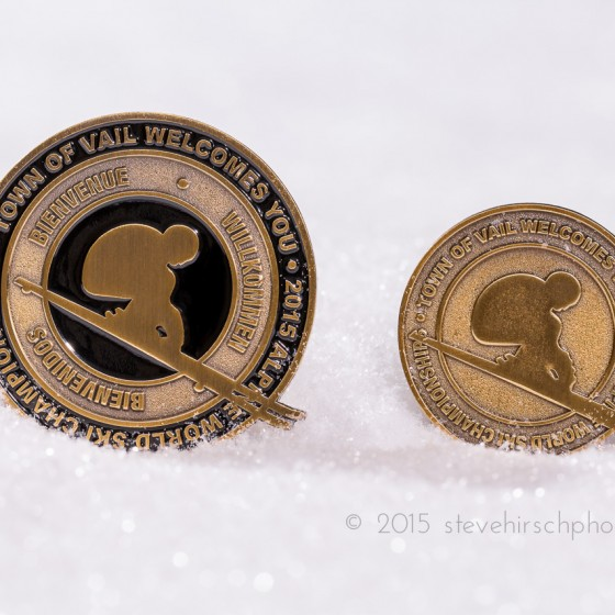 Town of Vail Championship Pins