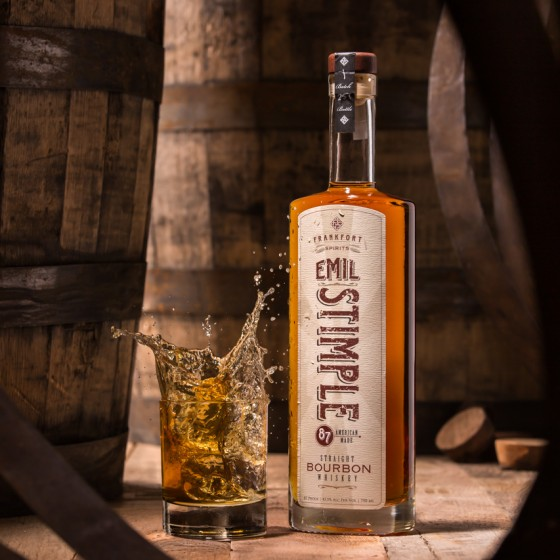 Emil Stimple Bourbon Whiskey