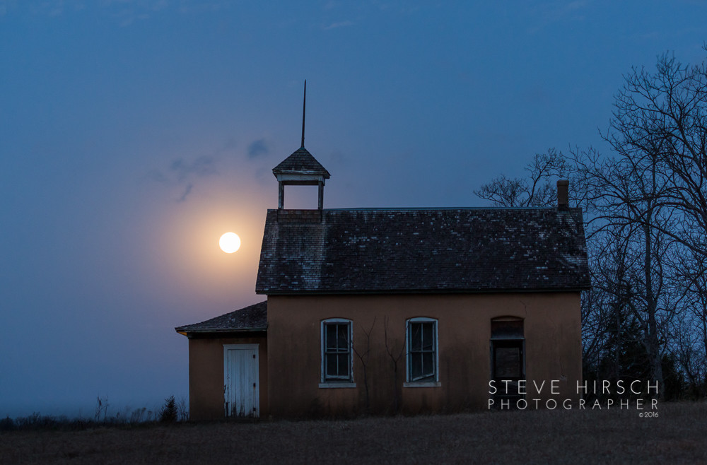The Schoolhouse, Super Moon, and The Snake