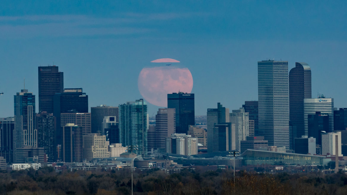 2016 Denver Supermoon